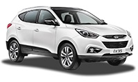 GROUP 4 - eg Hyundai ix35 Car Hire  from only £50.57 per day