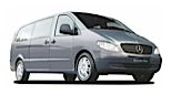 GROUP 9 Automatic - eg Mercedes Vito or VW Caravelle People Carrier Hire  from only £109.14 per day